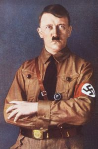 German Chancelor and leader of the Nazi Party of Germany Adolf Hitler poses